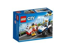 60135 LEGO® City Gangsterjagd auf dem Quad:   Schlag Alarm! Der Ganove macht sich mit einem Tresor voll Gold aus dem Staub