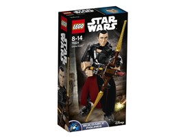 75524 LEGO® Star Wars™ Chirrut Îmwe™:   Verlasse dich bei dieser baubaren und äußerst beweglichen LEGO® Star Wars Fi