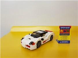 """Sportwagen 31006:   Fertiges Lego Modell von LEGO®    """"Sportwagen von Creator 31006""""    Mo"""
