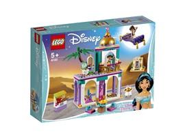 41161 LEGO® Disney Aladdins und Jasmins Palastabenteuer:   Begleite Disneys Aladdin und Jasmin bei einer Spritztour auf dem fliegenden