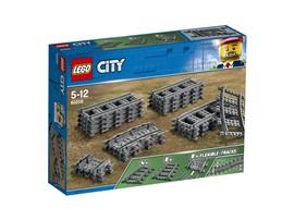 """60205 LEGO® City Schienen:   Mit dem LEGO® City Set """"Schienen"""" (60205) baust du das Schienennetz deines P"""