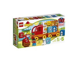 10818 LEGO® DUPLO® Mein erster Lastwagen:   Mit dem Set LEGO® DUPLO® Mein erster Lastwagen bringen Sie Ihrem Kind bei, z