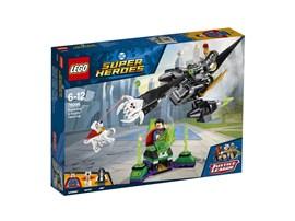 76096 LEGO® DC Universe Super Heroes™ Superman™ & Krypto™ Team-Up*:   Tu dich mit Krypto™ dem Superhund zusammen, um Superman™ bei der Flucht aus