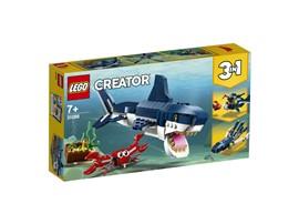31088 LEGO® Creator Bewohner der Tiefsee:   Tauche ein in einen Ozean voller Abenteuer – mit dem LEGO®Creator 3-in-1-Se