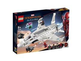 """76130 - LEGO® Marvel Super Heroes™ - Starks Jet und der Drohnenangriff:   Tu dich im LEGO® Marvel Spider-Man Set """"Stark Jet und der Drohnenangriff"""" (7"""