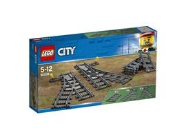 60238 LEGO® City Weichen:   Benutze die 60238 LEGO® City Weichen, um dein vorhandenes Schienennetz auszu