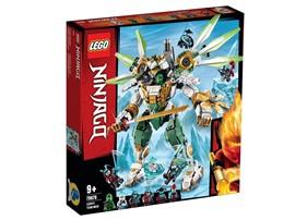 70676 - LEGO® NINJAGO - Lloyds Titan-Mech:   Veranstalte eine epische Auseinandersetzung zwischen den Blizzard-Samurai un