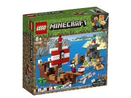 21152 LEGO® Minecraft™ Das Piratenschiff-Abenteuer:   Ahoi, Matrose! Sieh dir unseren neuen, coolen Minecraft™-Piraten-Skin an und