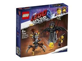 70836 The LEGO Movie™ 2 Einsatzbereiter Batman™ und EisenBart:   Ziehe mit dem EisenBart-Krabbenmech und Batman™ in die Schlacht, um Apokalyp