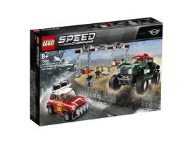 75894 LEGO® Speed Champions Rallyeauto 1967 Mini Cooper S und Buggy 2018 Mini John Cooper Works:   Liefere dir ein packendes Rallye-Rennen zwischen einem Oldtimer und einem mo
