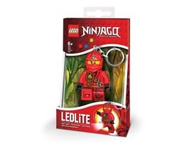 86578573 LEGO® Taschenlampe LEGO Ninjago Kai Minitaschenlampe:   Schlüsselanhänger THE LEGO Ninjago Kai mit LED-Licht. In der erfolgreichen T