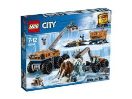 60195 LEGO® City Mobile Arktis-Forschungsstation:   Mit dem LEGO® City Set Mobile Arktis-Forschungsstation (60195) kannst du gle