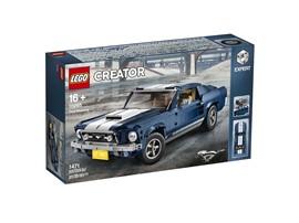 10265 LEGO® Exclusiv - Creator Expert - Ford Mustang:   Entdecke den Zauber, der hinter dem legendären 1960er amerikanischen Muscle-