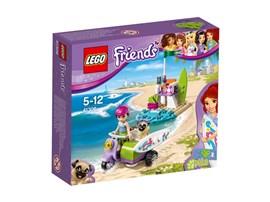 41306 LEGO® Friends Mias Strandroller:   Mia fährt zum Strand, um spannende Surf-Action zu erleben. Dabei darf ihr Mo