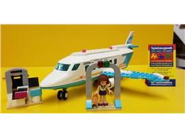 """Heartlake Jet 41100:   Fertiges Lego Modell von LEGO®    """"Heartlake Jet von Lego Friends 41100"""""""