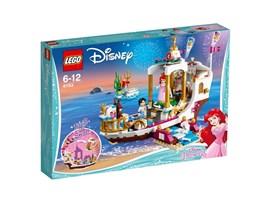 41153 LEGO® Disney Arielles königliches Hochzeitsboot:   Veranstalte ein unvergessliches Fest mit Arielle und Erik. Setz die Segel au