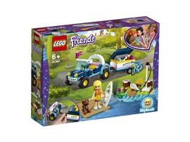 41364 LEGO® Friends Stephanies Cabrio mit Anhänger:   Begleite Stephanie auf ihrer Fahrt zum Seeufer, wo sie etwas Spaß haben will