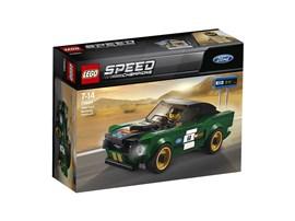 75884 LEGO® Speed Champions:   Fahr ein klassisches Rennen mit dem LEGO® Speed Champions 1968 Ford Mustang