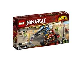 70667 LEGO® NINJAGO Kais Feuer-Bike & Zanes Schneemobil:   Stürze dich ins Action-Getümmel und erobere das Schwert des Feuers – mit Kai