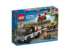 60148 LEGO® City Quad-Rennteam*:   Motze die Quads richtig auf und mach dich auf eine rasante Fahrt gefasst! Kl