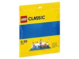 10714 LEGO® Classic Blaue Bauplatte:   Baue eine hübsche Stadt am Meer und sonnige Schwimmbäder, schippere über die