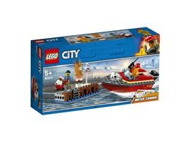 60213 LEGO® City Feuerwehr am Hafen:   Komm zur LEGO®City Feuerwehr und hilf, den Hafen zu schützen! Der Hafenarbe
