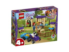 41361 LEGO® Friends Mias Fohlenstall:   Hilf LEGO®Friends Mia, die Fohlen und das Kaninchen in den Ställen zu verso