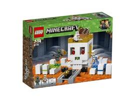 21145 LEGO® Minecraft™ Die Totenkopfarena:   Weiche dem Schleimshooter aus und besiege deinen Kontrahenten, um den golden