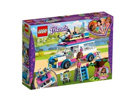 41333 LEGO® Friends Olivias Rettungsfahrzeug:   Begib dich mit Olivias Rettungsfahrzeug in den Heartlake City Park — ein Kat