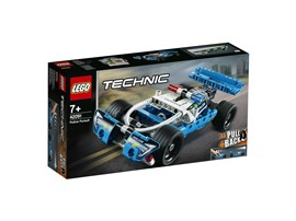 42091 LEGO® Technic Polizei-Verfolgungsjagd:   Mit dem superschnellen Polizei-Verfolgungsjagd Fahrzeug entkommt dir kein Bö
