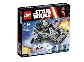 75100 LEGO® Star Wars™ First Order Snowspeeder™:   Wenn du Verstärkung brauchst, rufst du einfach den First Order Snowspeeder z