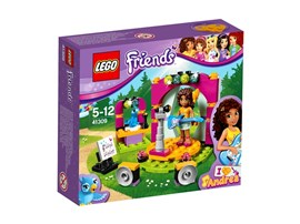 41309 LEGO® Friends Andreas Showbühne:   Hier kann Andrea den ganzen Tag lang auf der Bühne singen und für ihren Auft