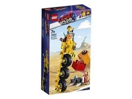 70823 The LEGO Movie™ 2 Emmets Dreirad!:   Kannst du die Alien-Invasion aufhalten? Hebe deine Baumeister-Fertigkeiten a