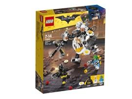 70920 The LEGO Batman Movie™ Egghead™ bei der Roboter-Essenschlacht*:   Essenschlacht! Tu dich mit Batmanzusammen, um Eggheadund Condiment Kingbe