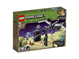 21151 LEGO® Minecraft™ Das letzte Gefecht:   Sieh dir deine coole neuen Drachenjäger-Rüstung an, schnapp dir Enderperle,