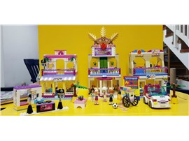 "Heartlake Einkaufszentrum 41058:   Fertiges Lego Modell von LEGO®    ""Heartlake Einkaufszentrum von Lego Fri"