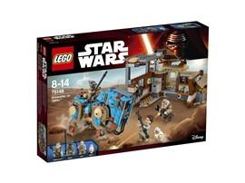 75148 LEGO® Star Wars™ Encounter On Jakku:   Schließe dich Rey und ihrem Begleiter BB-8 an, wenn sie geborgene Teile an d
