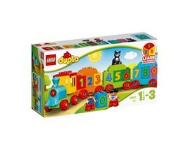 10847 LEGO® DUPLO® Zahlenzug:   Der farbenfrohe LEGO® DUPLO® Zahlenzug dient der Einführung der Zahlen und e