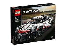 "42096 LEGO® Technic Porsche 911 RSR:   Entdecke mit dem coolen LEGO®TechnicModell ""Porsche 911 RSR"" innovative Te"