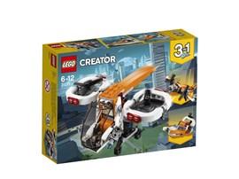 31071 LEGO® Creator Forschungsdrohne:   Mit der Forschungsdrohne kannst du alles aus der Vogelperspektive erkunden.