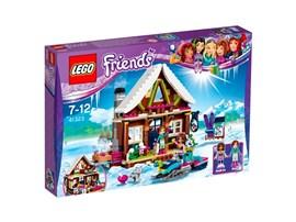 41323 LEGO® Friends Chalet im Wintersportort*:   Verbringe mit Andrea und Amy ein Winterwochenende in einem gemütlichen Block