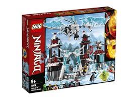 70678 - LEGO® NINJAGO - Festung im ewigen Eis:   Das Eisfestungs-Spielset für Jungen und Mädchen ist die perfekte Kulisse für