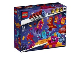 70825 The LEGO Movie™ 2 Königin Wasimma Si-Willis Bau-Was-Du-Willst-Box!:   Baue Königin Wasimma Si-Willi immer wieder in neue Gestalten um – genau wie