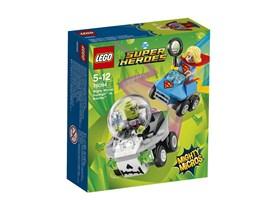 76094 LEGO® DC Universe Super Heroes™ Mighty Micros: Supergirl™ vs. Brainiac™*:   Begib dich auf eine Mighty Micros Weltraummission, um Brainiac™ die Flaschen