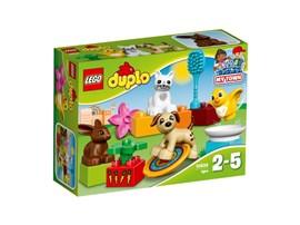 10838 LEGO® DUPLO® Haustiere*:   Mach einen Ausflug in den Park, um mit all den Haustieren zu spielen! Jungen