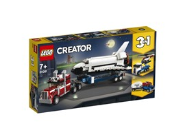 31091 LEGO® Creator Transporter für Space Shuttle:   Heb ab und stürz dich in ein spannendes Weltraumabenteuer – mit dem LEGO®Cr