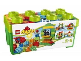 10572 LEGO® DUPLO® Große Steinebox:   Die LEGO® DUPLO® Große Steinebox enthält jede Menge DUPLO Steine für endlose