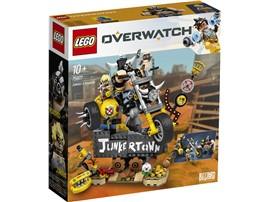 """75977 - LEGO® Overwatch™ - Junkrat & Roadhog:   Fans von Overwatch® können mit dem Set """"Junkrat & Roadhog"""" (75977) einen Tei"""