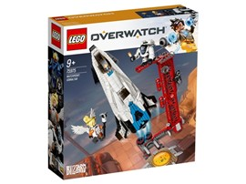 75975 - LEGO® Overwatch™ - Watchpoint: Gibraltar:   Overwatch®-Fans werden von der detailgetreuen Rakete und der Startrampe im S
