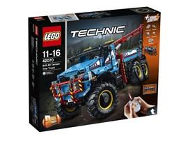 42070 LEGO® Technic LEGO® Technic Allrad-Abschleppwagen:   Mit dem superrobusten ferngesteuerten Allrad-Abschleppwagen schaffst du es a
